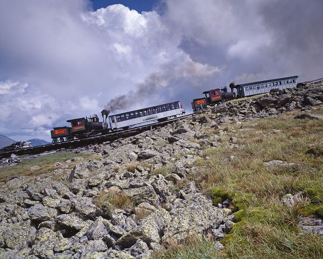Mount Washington cog railway, New Hampshire