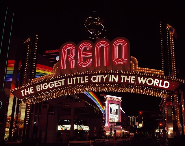 Neon sign, Reno, Nevada