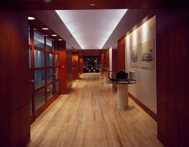 Office building hallway