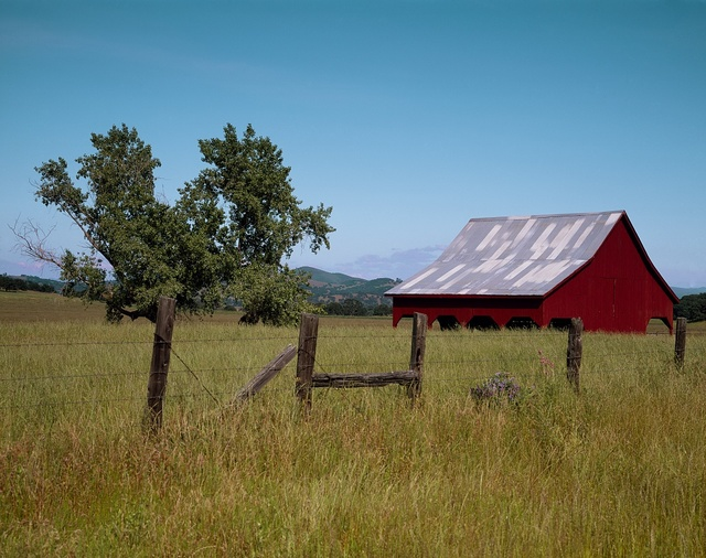 Old barn, Sonora County, California