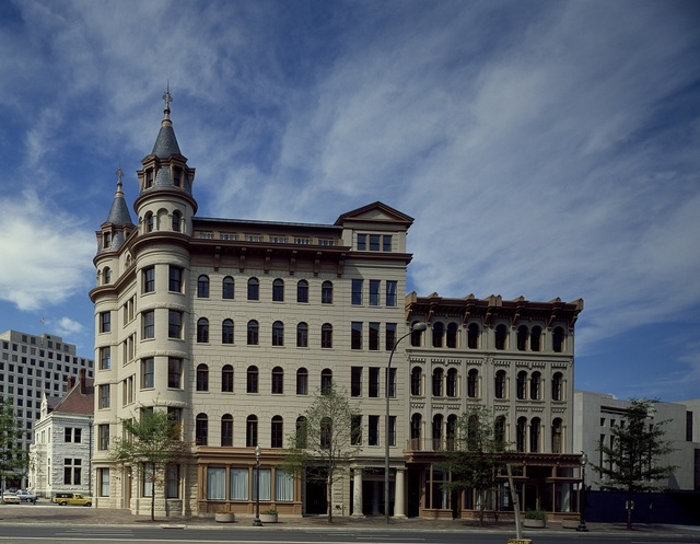 Originally the St. Marc Hotel at 6th Street and Pennsylvania Avenue, Washington, D.C.