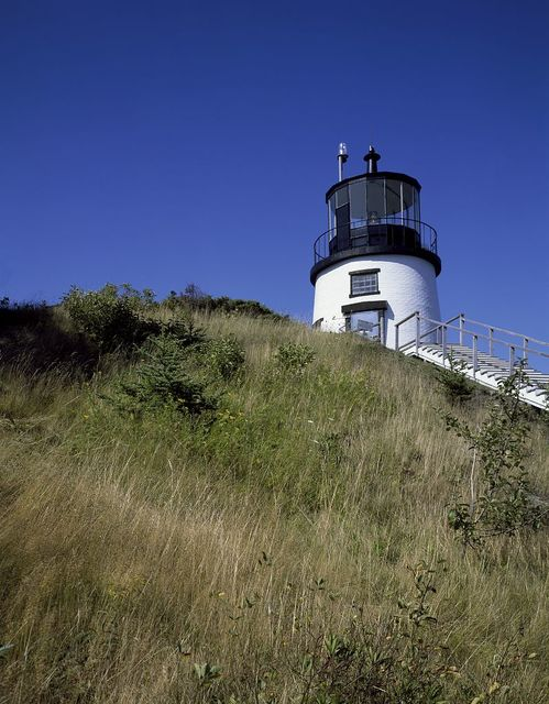 Owl's Head Light, at the entrance of Rockland Harbor on western Penobscot Bay, Owl's Head, Maine