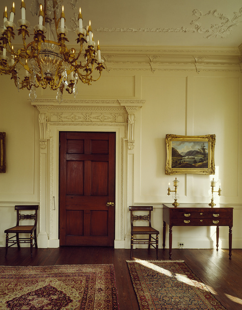 Parlor at the Miles Brewton House, which dates to the late 1760s, Charleston, South Carolina