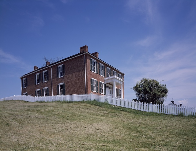 Philip Pry's house was commandeered as Union Army headquarters at the Battle of Antietam, Maryland