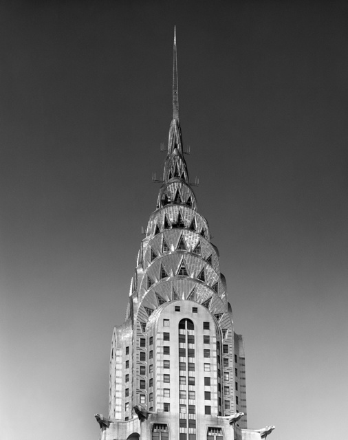 Pinnacle of the Chrysler Building, New York, New York