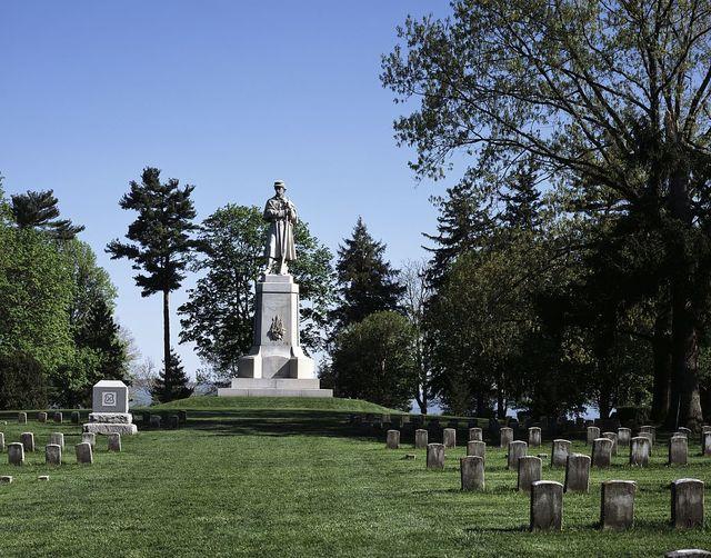 Private soldier monument, Antietam Battlefield, near Sharpsburg, Maryland
