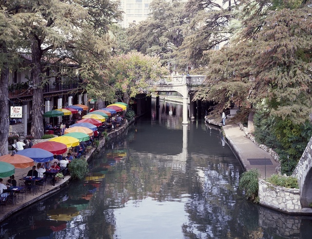 River Walk, the number-one tourist attraction in San Antonio, Texas