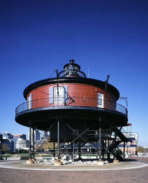 Seven Foot Knoll Light, Baltimore, Maryland