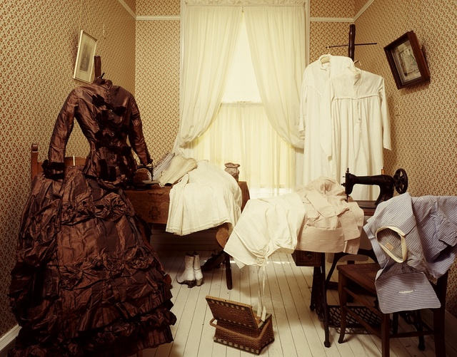 Sewing room in the Emlen Physick House, Cape May, New Jersey