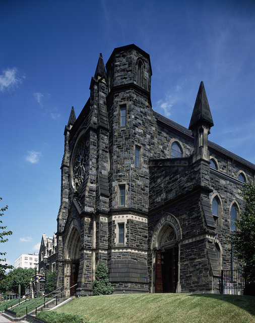 St. Patrick's Church is the oldest parish in the Federal City of Washington, D.C.
