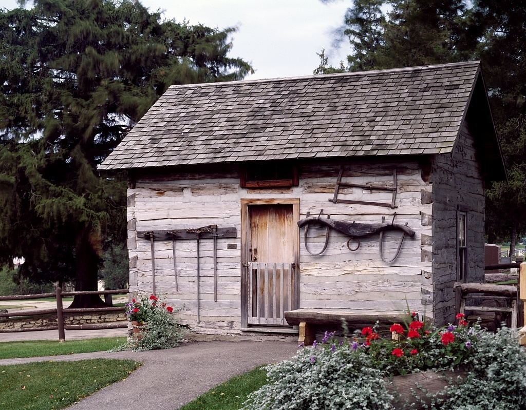 Swiss architecture such as this Swiss settler's cabin