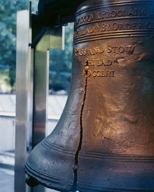 The Liberty Bell, Philadelphia, Pennsylvania