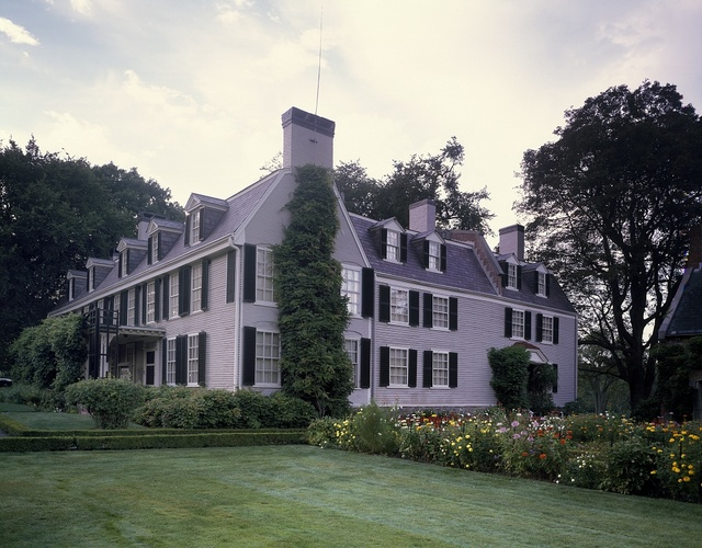 """The """"Old House,"""" home to two presidents: John and John Quincy Adams, Quincy, Massachusetts"""