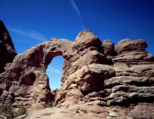 'The Windows' at Arches National Park, Utah