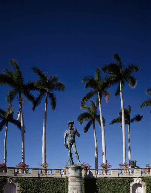 """This statue of Michelangelo's """"David"""" at the Ringling Museum in Sarasota, Florida, is the only one in the Western Hemisphere"""
