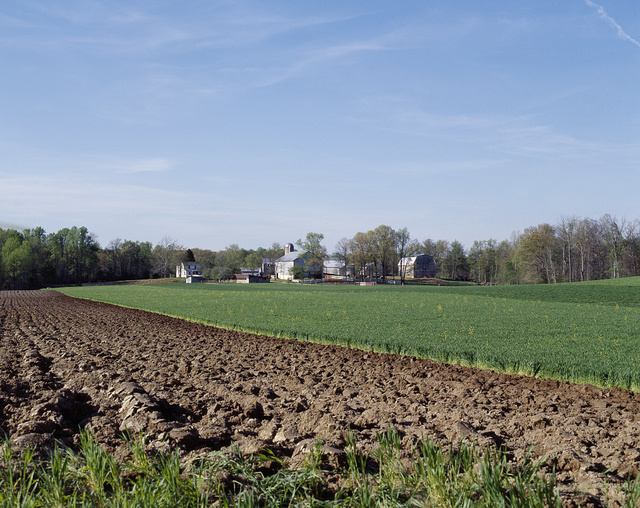 """Tidy Amish farm in """"Amish Country,"""" Lancaster County, Pennsylvania"""