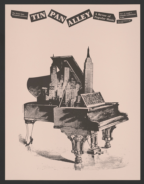 Tin pan alley - a revue of popular music...