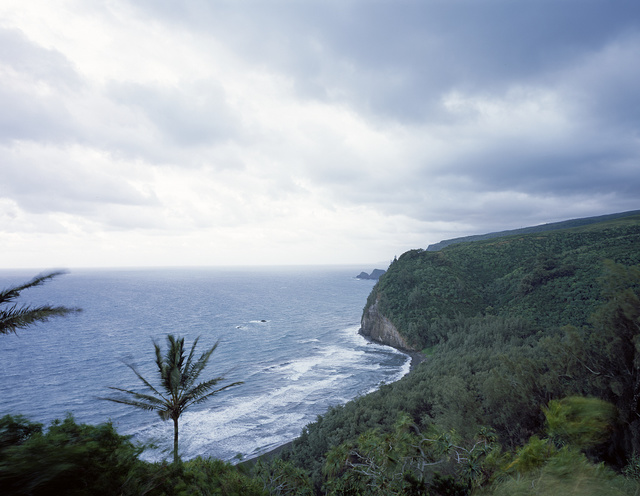 Unspoiled north shore of Hawaii's Oahu Island