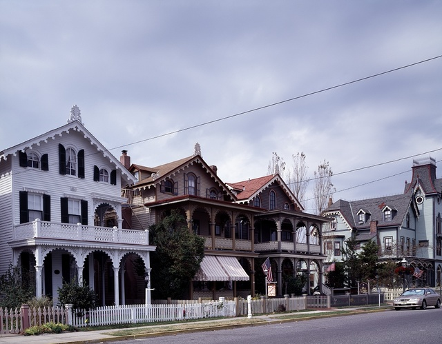 Victorian cottages, Cape May, New Jersey