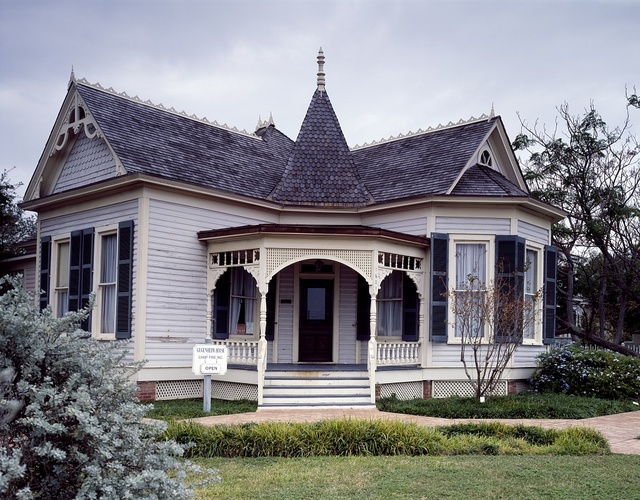Victorian structure built for Simon and Lila Bell (Solomon) Guggenheim in 1905 in Corpus Christi, Texas