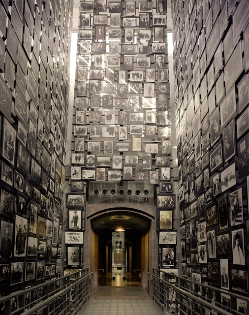 Wall of Remembrance at the U.S. National Holocaust Museum, Washington, D.C.