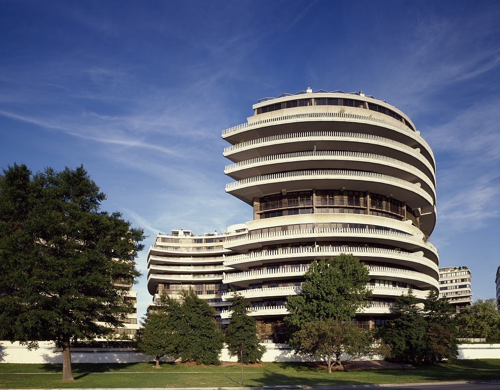 Watergate Hotel, site of the scandalous break-in of Democratic Party Headquarters during the Nixon Administration. Washington, D.C.