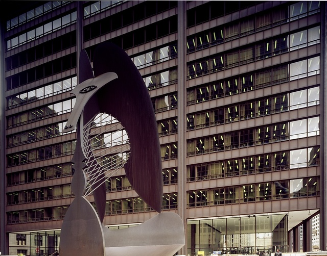 When Pablo Picasso's untitled, fifty-foot abstract sculpture appeared on a plaza on Washington Street in 1967, it became, to some, Chicago's Eiffel Tower, a symbol of the vibrant city