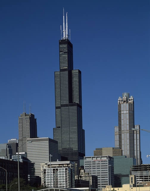 Willis Tower, long known as Sears Tower, Chicago, Illinois