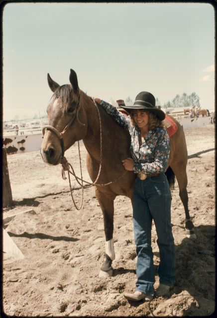 Lisa Hall with Horse