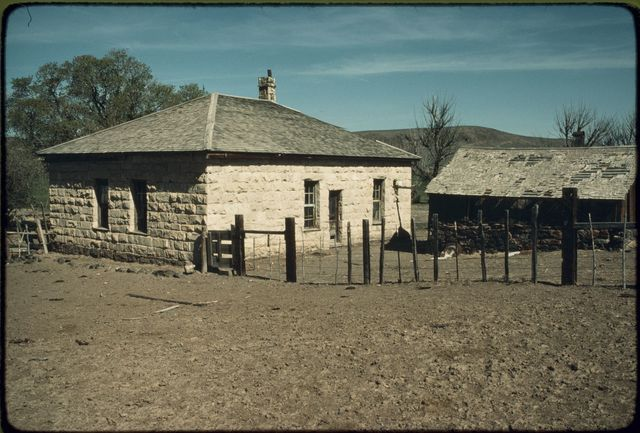 Ranch House with Smokehouse