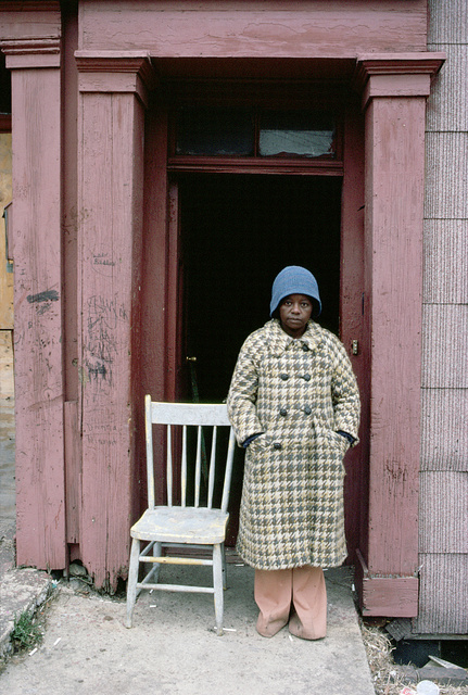 Alice Davis, New at Newark Streets, Newark, March 1982