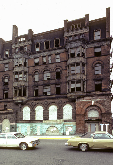 Former Corn Exchange Bank, NW corner of Park Ave. at E. 125th St., Harlem, 1982