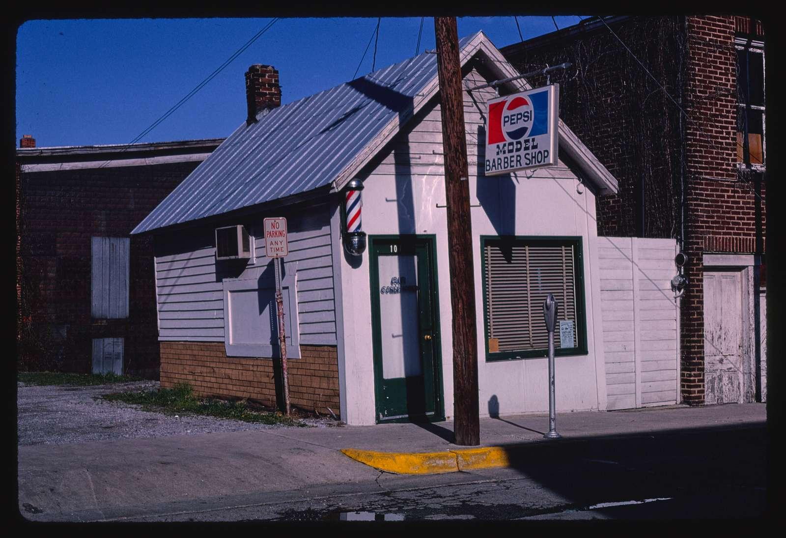 Model Barber Shop, 107 Broad Street, Marion, Virginia