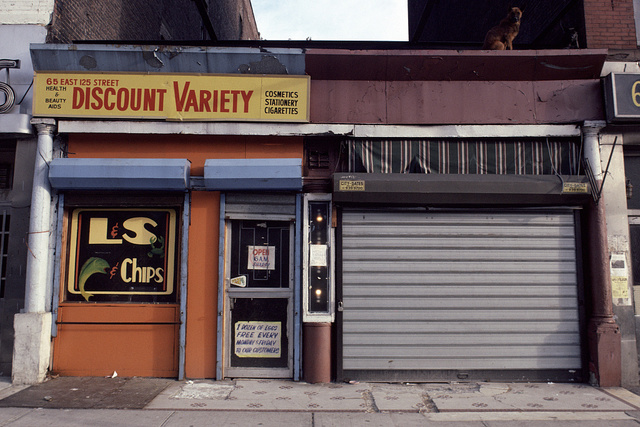 65 East 125th St., Harlem, 1983