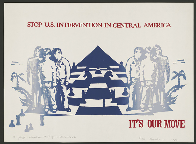 Stop U.S. intervention in Central America. It's our move