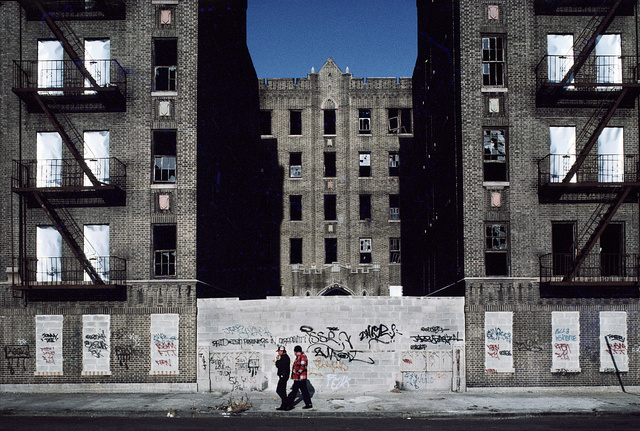 Vyse Ave. at East 178th St., South Bronx, N Y, January 1983