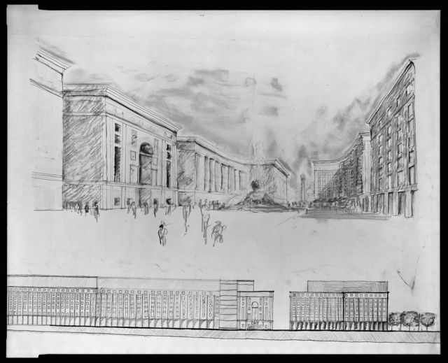 [Portals Site, between 14th Street and 12th Street, SW, Washington, D.C. (project). Plan]