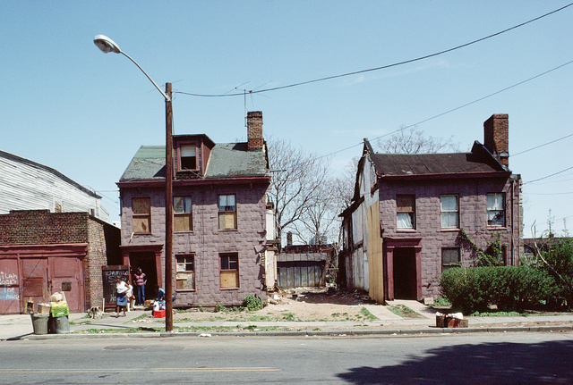 New at Newark Streets, Newark, April 1985