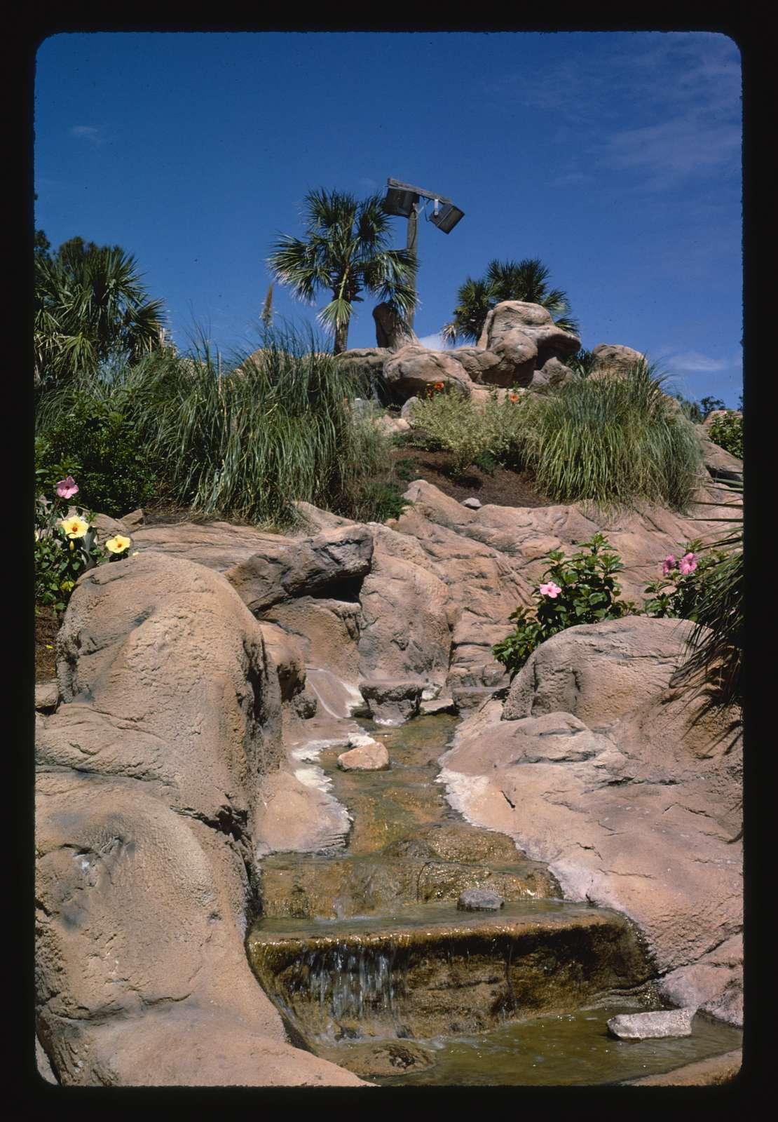 Waterfall detail, Treasure Island Golf, Myrtle Beach, South Carolina