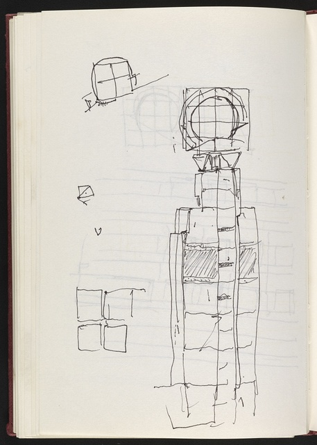 [James Freed Sketchbook #8]