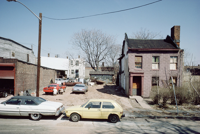 New at Newark Streets, Newark, April 1986