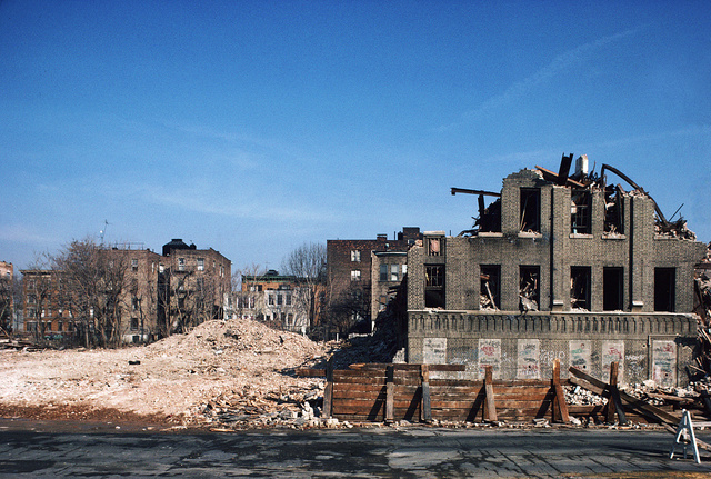 Vyse Ave. at East 178th St., South Bronx, N Y, January 1986