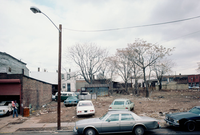 New at Newark Streets, Newark, 1987