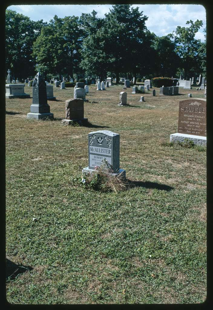 Polish American Veterans Club, Coburn Street, Centralville, Lowell, Massachusetts; Luz Granite Company, Lowell, Massachusetts; Edson Cemetery, Jack Kerouac's grave, Lowell, Massachusetts