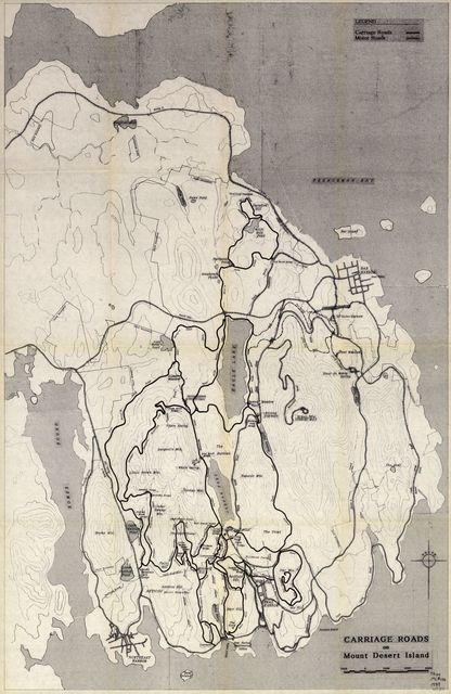 Historic resource study for the carriage road system, Acadia National Park, Mount Desert Island, Maine /