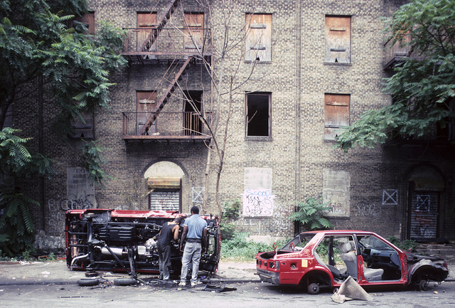 Townsend Ave. S. of 175th St., S. Bronx, 1992