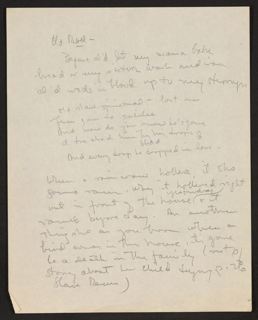 Alan Lomax Collection, Manuscripts, The Land Where the Blues Began, 1993