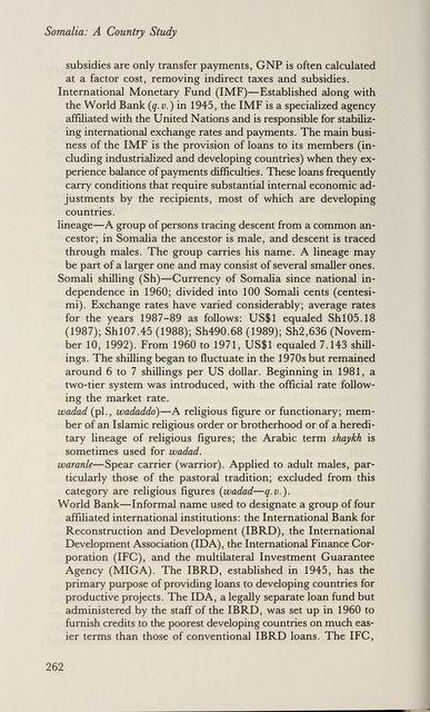 Somalia : a country study /