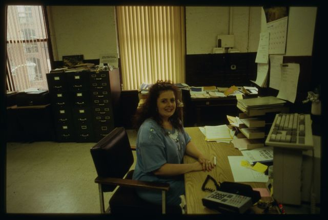 Colleen Ryan, researcher and order receptionist at Watson.
