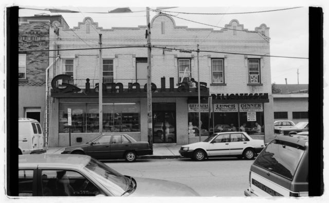 Exterior of front of Giannella's Bakery, 298 21st Avenue.